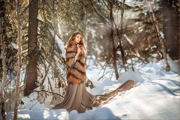 Зимняя фотосессия на Амуте